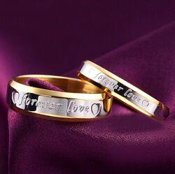 Женское кольцо Forever love с магнетитом