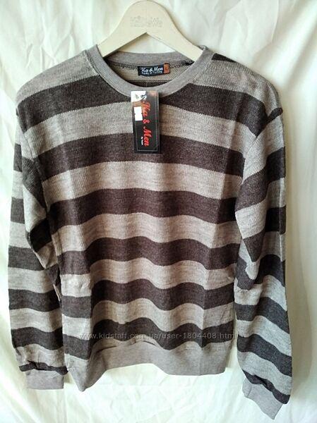 Тонкий свитер, l, xl , 50 шерсть, турция