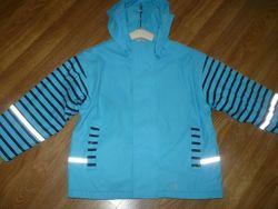 Куртка дождевик прорезиненная 110-116р. голубая Impidimpi