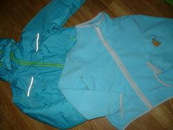 Куртка лыжная 110-116р.5-6 лет голубая Impidimpi