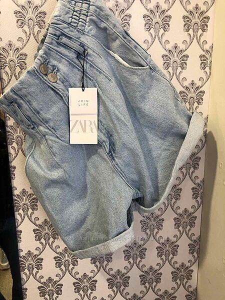 Шорты джинсовые Zara 32-42