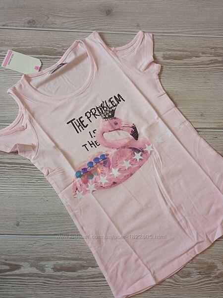Детская футболка для девочки glo-story 134-164