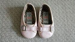 Кожаные туфельки-пинетки Mamas&Papas