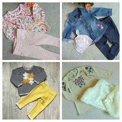 Комплект одежды для малышки 6-9 месяцев
