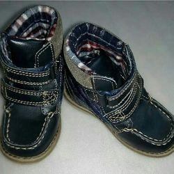 Демисезонные ботиночки George, размер 23/6, по стельке 14,5 см.