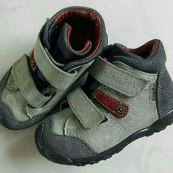 Демисезонные мембранные ботиночки Ricosta Pepino, 22 размер, по стельке 13,
