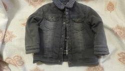 Джинсовая куртка Brums, размер 86см