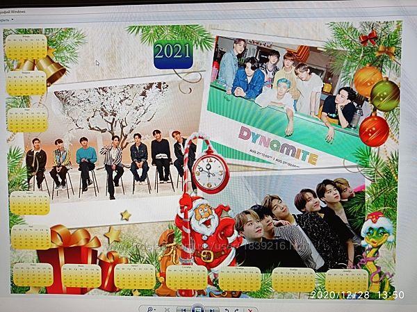 Оригинальный подарок -Календарь с Вашим фото