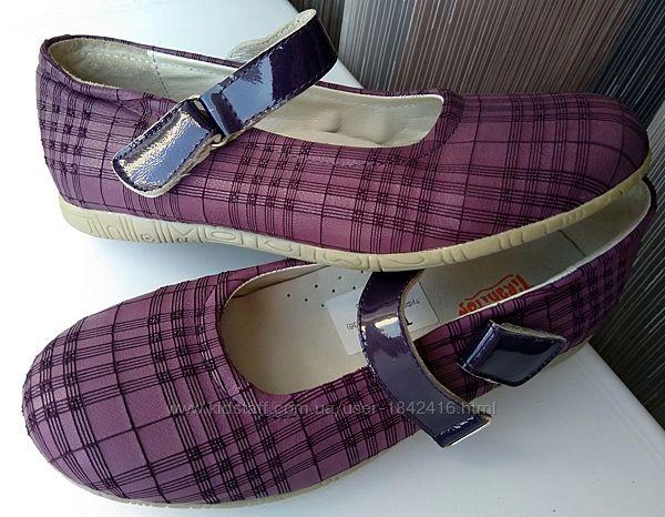 Туфли нарядные туфельки, Tiranitos, кожа, 21,5 см