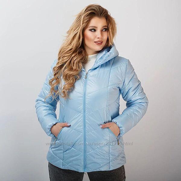 Весенняя куртка больших размеров. Разные цвета.