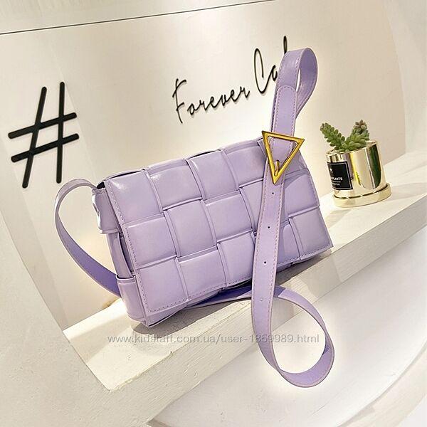 Плетёная сумка в стиле bv