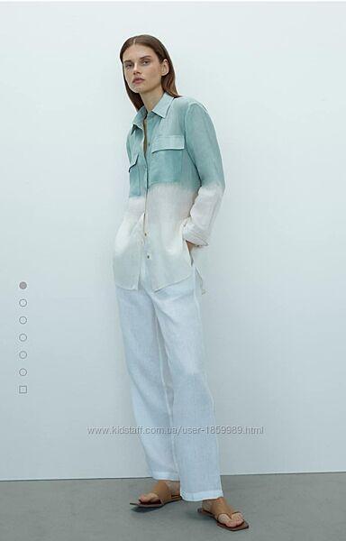Рубашка блуза  рами Massimo Dutti