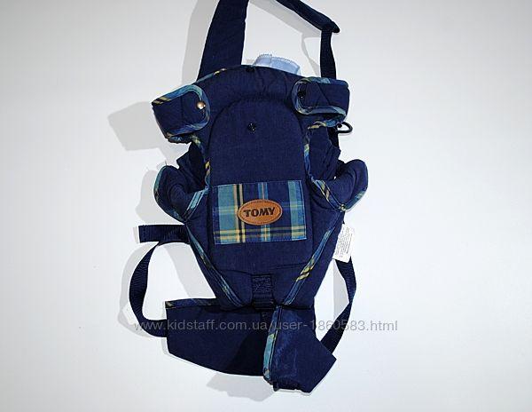Синий Кенгуру слинг переноска для младенцев Tomy до 9,5 кг