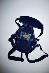 Синий Кенгуру Германия слинг переноска для новорожденных Tomy до 9,5 кг