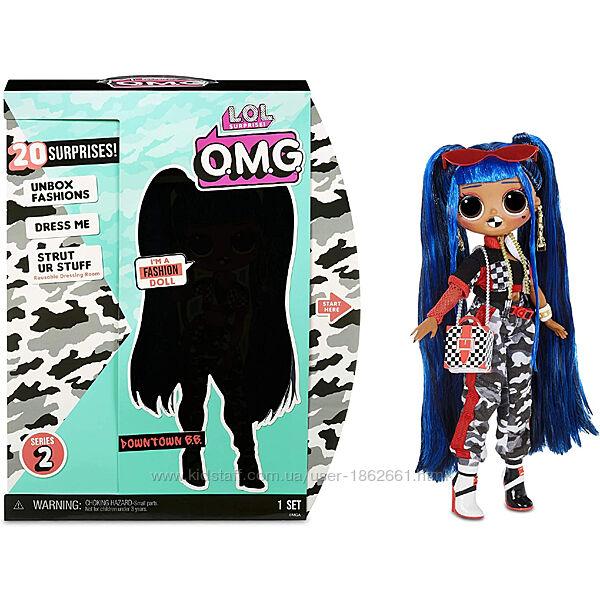 Большая кукла LOL Surprise OMG Downtown B. B. , ЛОЛ ОМГ. MGA 570295 Оригина