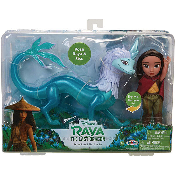 Набор Дисней кукла Райа и последний дракон, Disney Raya and The Last Dragon