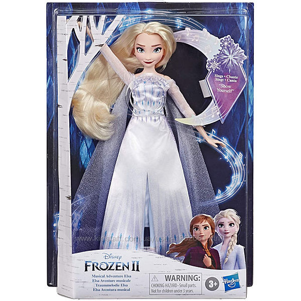 Поющая Эльза, Холодное сердце 2 Frozen 2, Musical Adventure Elsa. Hasbro