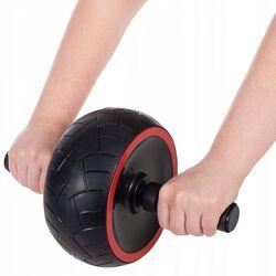 Ролик колесо для пресса Springos AB Wheel FA5030 Black/Grey
