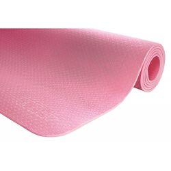Коврик мат для йоги и фитнеса 4FIZJO TPE 6 мм 4FJ0152 Pink
