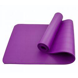 Коврик мат для йоги и фитнеса Sportcraft NBR 1 см ES0007 Violet