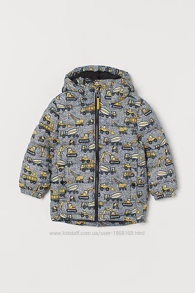Водоотталкивающая утеплённая куртка H&M для мальчика
