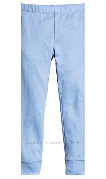 Пижамные брюки H&M 0454128002 110-116 СМ Голубой 64242