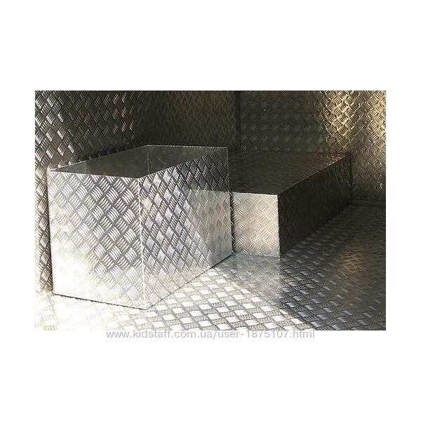 Лист алюминиевый рифлёный Квинтет 2х1000х2000 мм широкий ассортимент