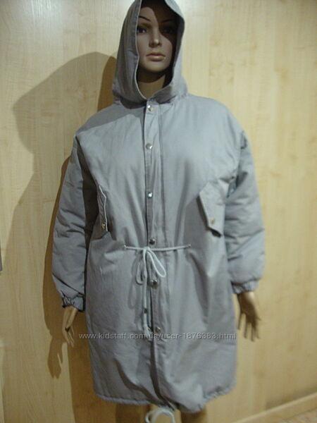 Летняя цена/Крутая куртка пальто парка коттон.