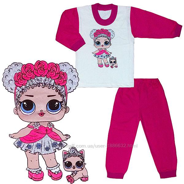 Пижама Лол р.28-36 2-8 лет, рост ребенка 92-122 см 03.13.22