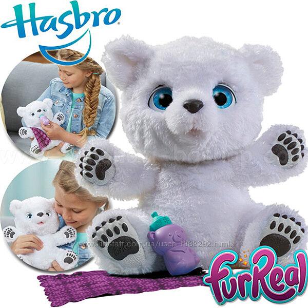 Интерактивный Полярный Медвежонок furReal Snifflin &acuteSawyer , Hasbro