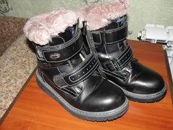 Ботинки зима размер 32