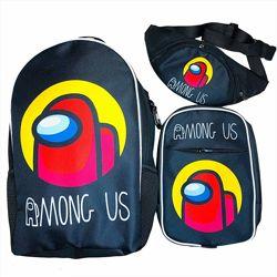 Новинка Набор Амонг Ас рюкзак, сумка, бананка от производителя Crazy Bags