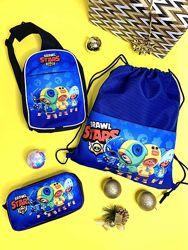 Подарочный набор для мальчика 2021, сумка, пенал, мешок для сменки