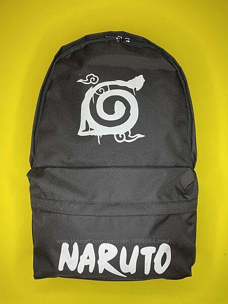 Наруто рюкзак для школьника, подростка от украинского производ. ТМ CrazyBag