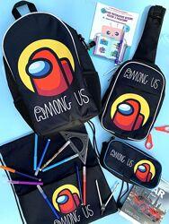 Among us/Амонг Ас набор для школы от украинского производителя Crazy Bags