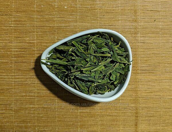 Китайский зеленый чай Лунцзын - Колодец дракона. Вес 250г.