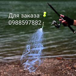 Минисеть с кормушкой для ловли рыбы пружина сеть