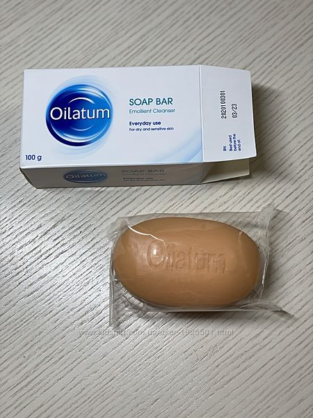 Мило Ойлатум Oilatum, Ірландія, Великобританія - 100 г, для чутливої шкіри