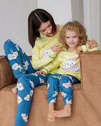 Пижамы 3-4 5-6 7-8 8-9 10-11 12-13 14-15 лет Nicoletta хлопок интерлок