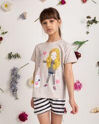 Комплект футболка с шортами 3-4 5-6 7-8 8-9 10-11 12-13 14-15 Турция
