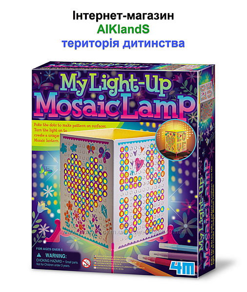 Набор для творчества 4M Лампа-мозаика 00-04618