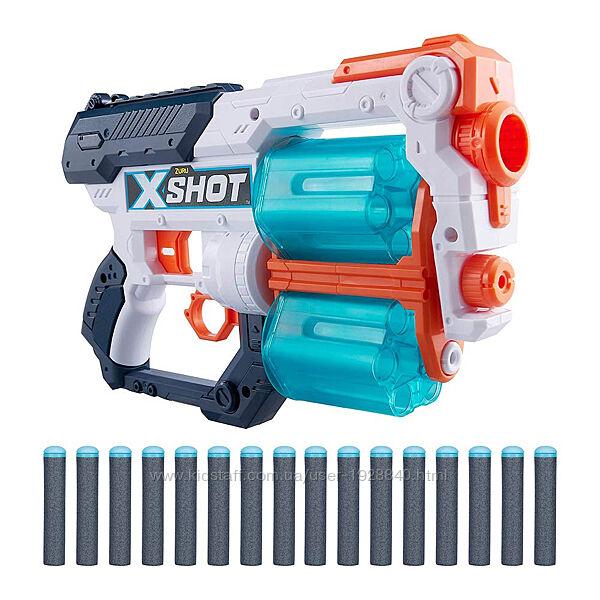 Детское игрушечное оружие скорострельный бластер X-Shot Excel Xcess TK-12