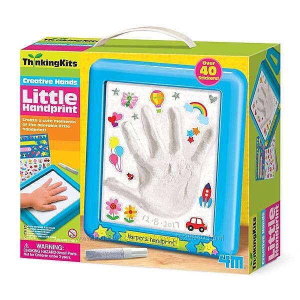 Детский набор для творчества и рукоделия 4M Слепок руки