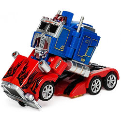 Робот-трансформер на радиоуправлении Оптимус Прайм 28128. Optimus