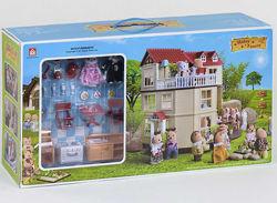 Загородный Домик Счастливая Семья Happy Family 012-10 С мебелью.