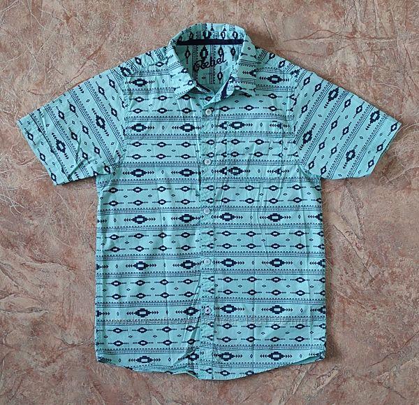 Рубашка с коротким рукавом для мальчика Rebel