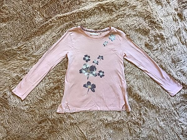 розовая футболка с рукавом Cool Club