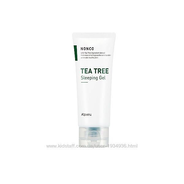 Ночная маска с маслом чайного дерева A&acutepieu Nonco Tea Tree Sleeping Gel