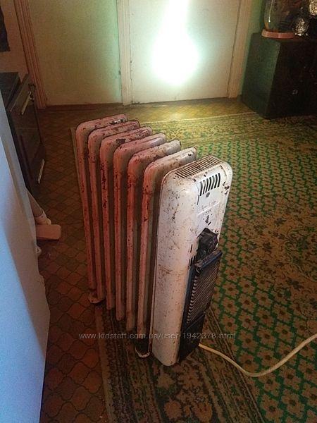 Продажа мощного масляного радиатора .