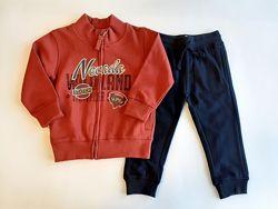Костюм спортивный кофта , брюки Losan Kids boys 525-8605AC/573 Бордовый